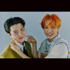 Sehun with Kai cute