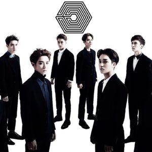 Serious EXO members