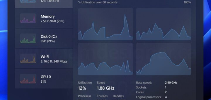 This Windows 11 Task Manager Concept Makes Sense Could Use