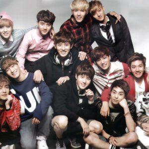 young exo members