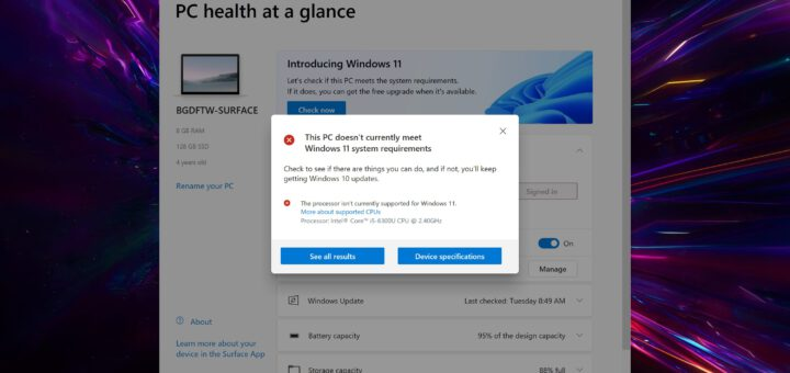 Microsoft releases app to let everyone check if their pcs