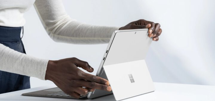 This is the new surface pro 8 in all its