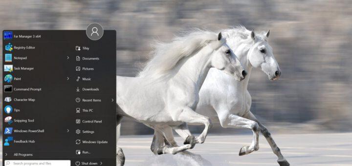 This app brings the windows 10 start menu back on