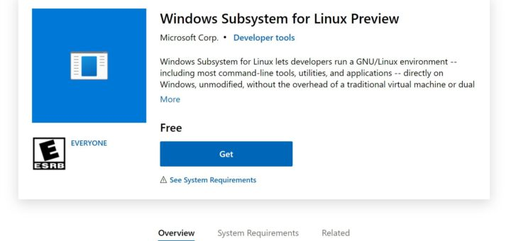 Windows subsystem for linux lands on windows 11 as a